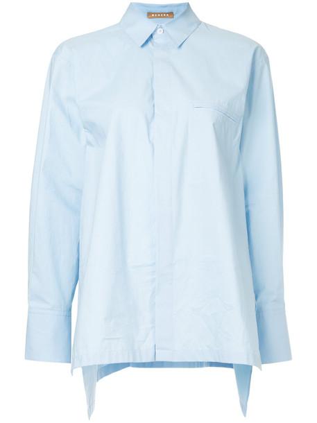 Nehera shirt women cotton blue top