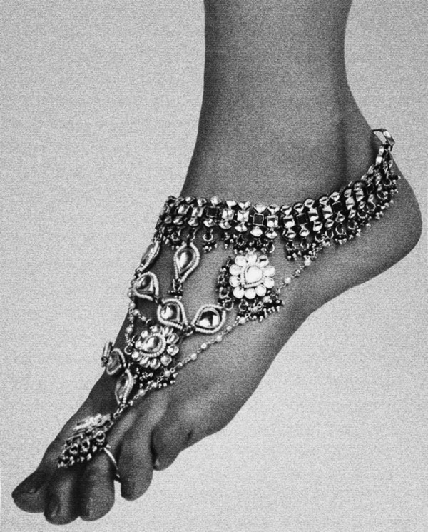 jewels cool vintage footwear charm foot jewels silver toe ring anklet anklet jewels anklet with toe ring