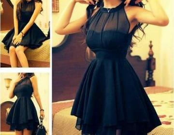 Black Nice Show Thin Net Dress on Luulla