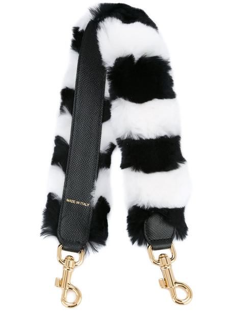 Dolce & Gabbana mini fur women bag mini bag black