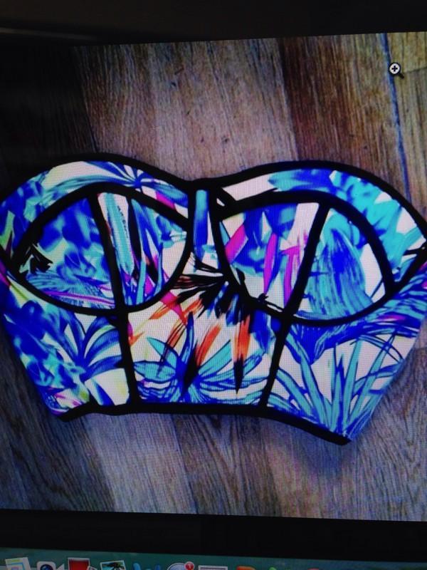 swimwear floral bikini