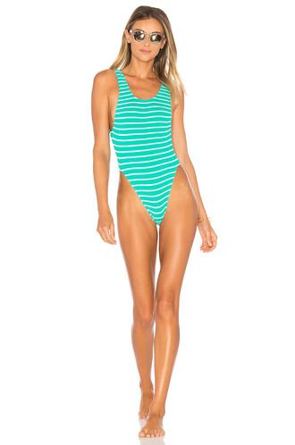 one piece swimsuit mint swimwear