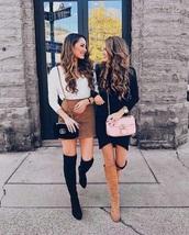 skirt,mid thigh skirt,brown,knee length skirt,leather skirt