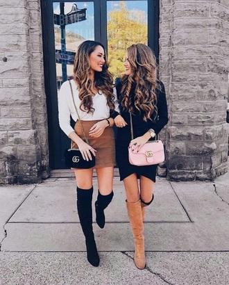 skirt mid thigh skirt brown knee length skirt leather skirt