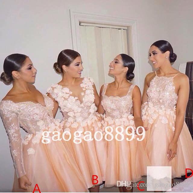 Short Wedding Dresses for Guest