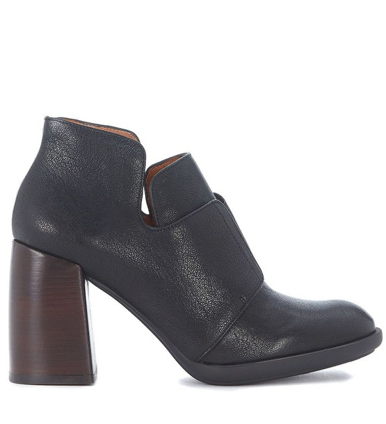 Chie Mihara leather ankle boots ankle boots leather black black leather shoes