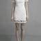White day dress - lace openwork embroidery dress mx028 | ustrendy
