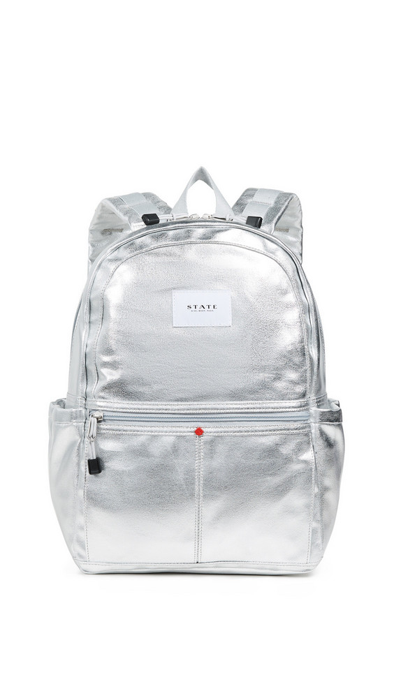 STATE Kane Backpack in silver