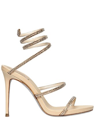 snake sandals leather sandals leather gold shoes