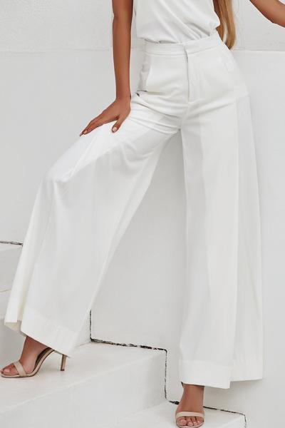 *Louvre Pants (White)