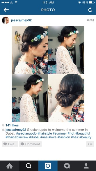hair accessory headband flower head band
