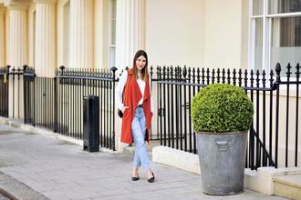 shiny sil blogger shirt shoes jacket belt jeans top bag jewels