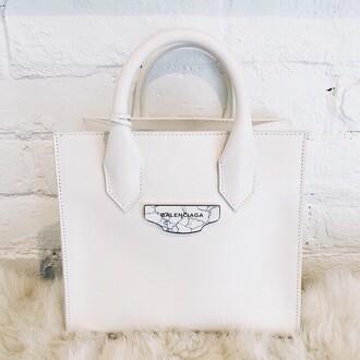 bag balengiaca white bag classy stylish