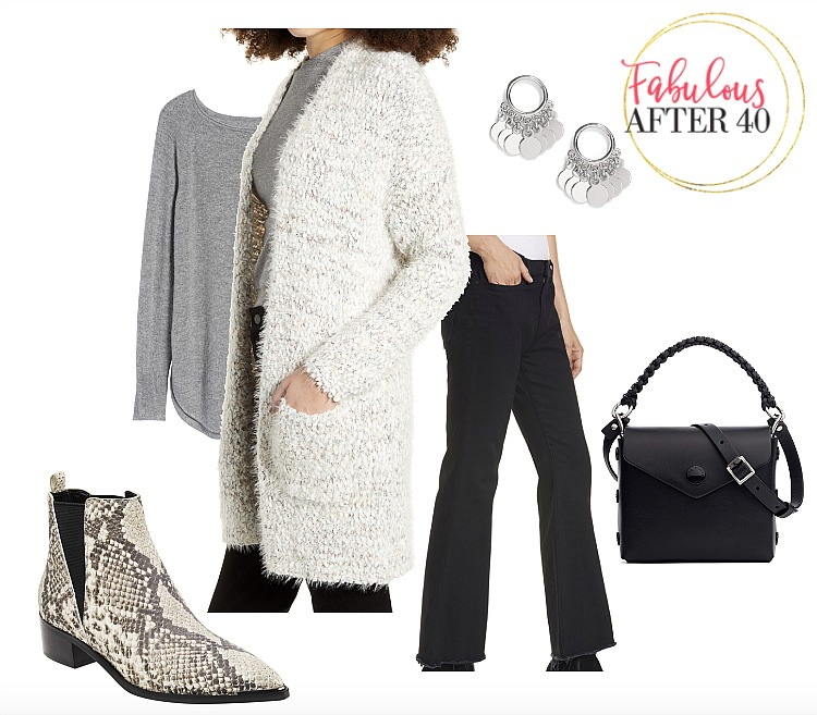 Fuzzy Sweaters to Cuddle Up In