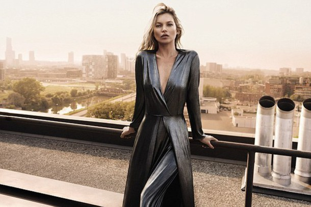 c7c5bdeeae5 dress plunge v neck kate moss metallic metallic dress wrap dress