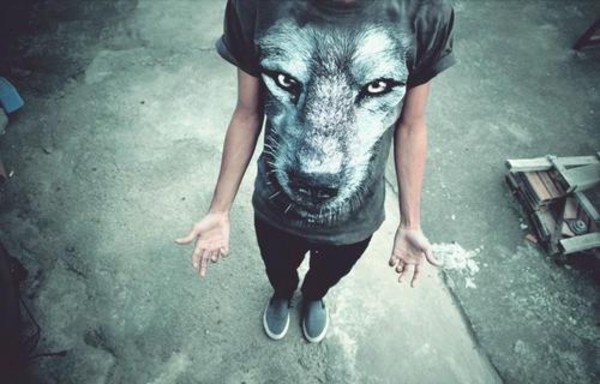 t-shirt wolf mens menswear rock tumblr tumblr