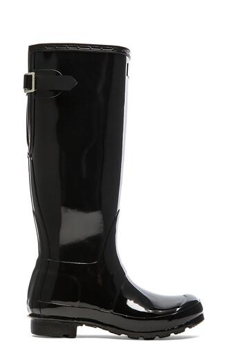 boot back black