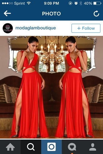 dress cute sexy dress gown gowns beautiful red dress red black dress long dress new year's eve hot classy