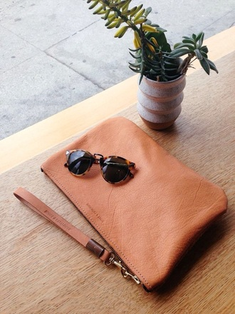 bag leather bag pouch