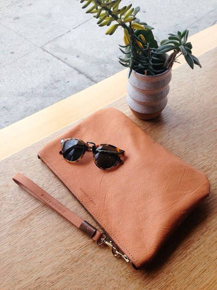 leather bag bag pouch