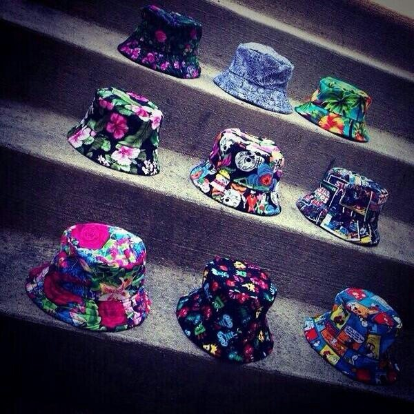 hat bucket hats