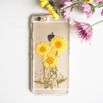 phone cover shabibisheep flowers floral cute trendy sunflower floral pattern floral phone accessories pressed flowers gift ideas lovely gift girlfriend gift girlsfriend gift anniversary gift