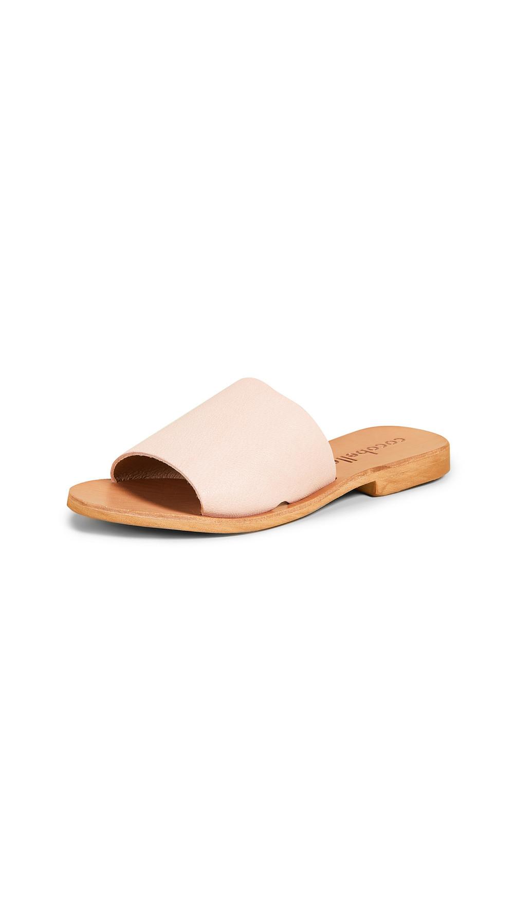 Cocobelle Bhea Slides in rose