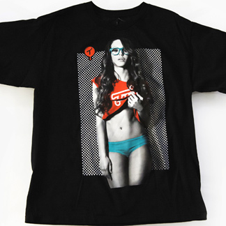 T.I.T.S. / Two In The Shirt x Erica Grisby | Four Eyed Freak - Men's T-Shirt