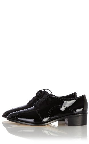 Karen Millen Patent Leather Brogue : Hot Off The Press