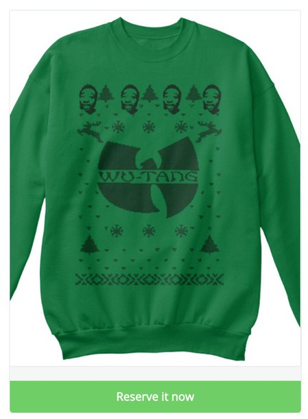 Sweater Wu Tang Christmas Sweater Wu Tang Clan Christmas Sweater