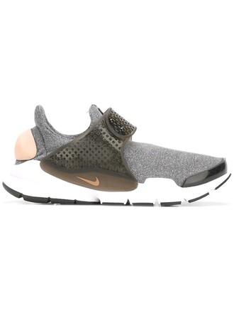 women sneakers grey neoprene shoes