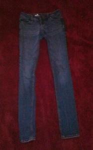 Bullhead venice denim skinny pants size 1 long