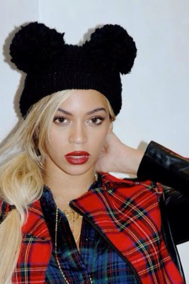 mickey mouse black hat beyonce
