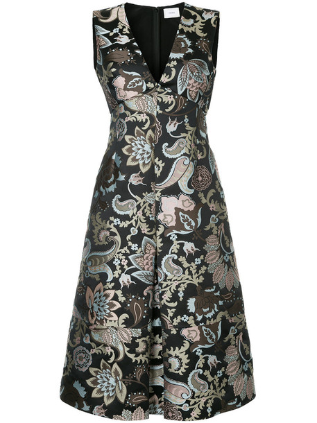 Erdem dress women black silk