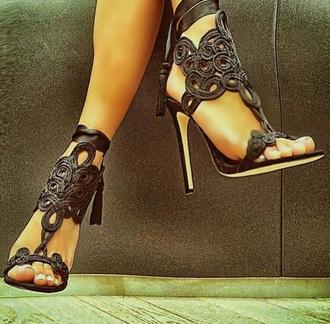shoes black heels black shoes black lace