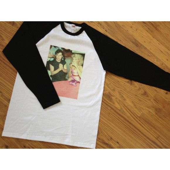 Grease t-shirt raglan vintage lazyoaf blouse