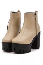 All-matching Platform Boots - OASAP.com