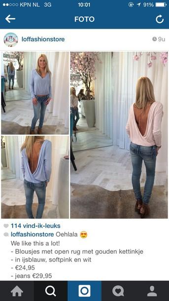 blouse blous pink