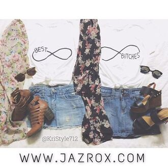 t-shirt jazrox bff bff shirts best friend shirts best bitches white top hipster vintage style girl quote on it hippie neon grunge sexy cute classy indie tumblr lookbook matching set cool dope swag summer outfits summer pretty trendy beach pastel beautiful streetwear urban instagram kawaii