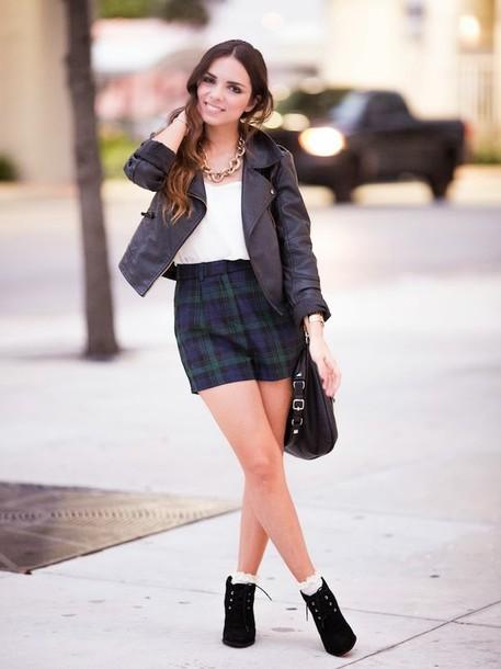 nany's klozet shorts t-shirt jacket shoes bag jewels
