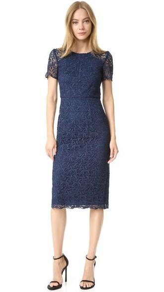 dress lace dress lace navy blue