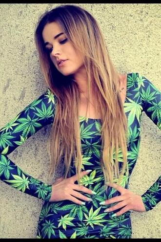 dress clothes weed short dress