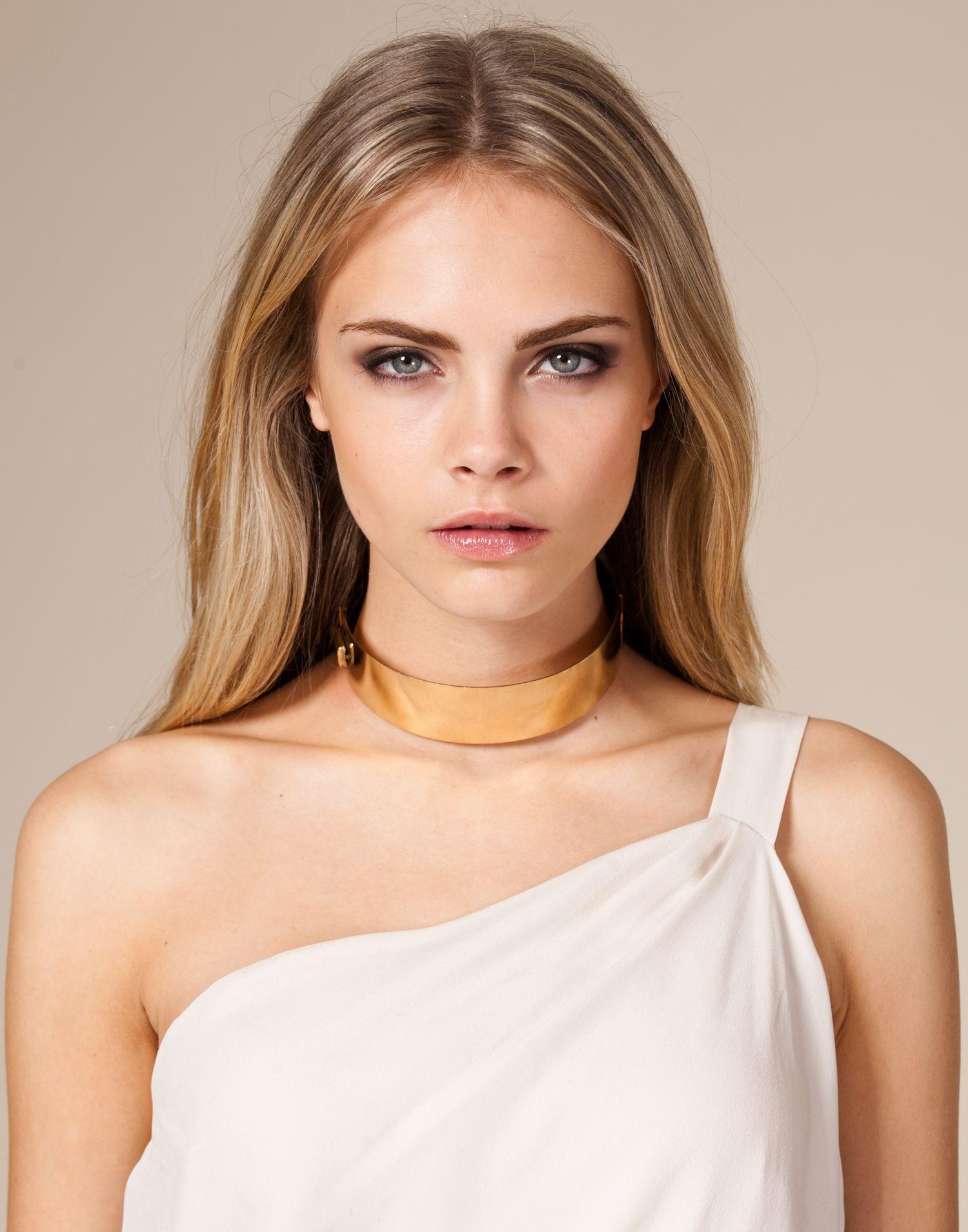 Choker Necklace - Nelly Trend - Guld - Smycken - Accessoarer - NELLY.COM Mode online på nätet