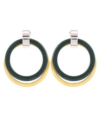 metal style earrings gold jewels