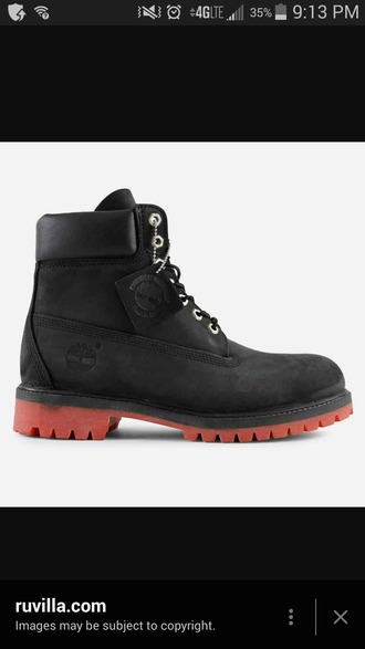 shoes timberland boots shoes black shoes red bottoms