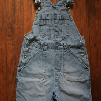 Womens 90s Grunge Denim Bib SHORTALLS/ Womens Shortalls  /  OVERALL Shorts on Wanelo