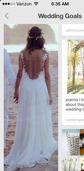 dress,hippie wedding,white,flowers,beach,bride,wedding,vintage,wedding dress,hippie dress,fashion,vintage wedding dress