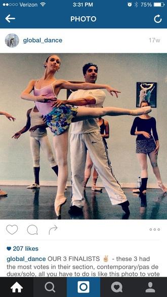 shirt ballet skirt ballet circle skirt skirt sportswear