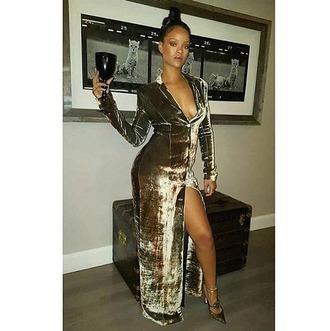 dress velvet velvet dress rihanna pumps plunge v neck plunge dress coat