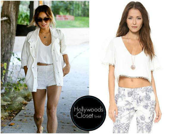 - Vanessa Hudgens| Los Angeles  Vanessa was spotted...